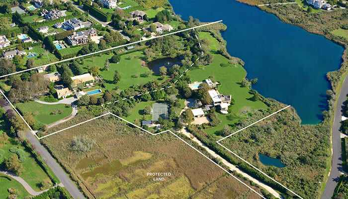 For $72 5M, Call This Pondfront Southampton Compound Home — Hamptons