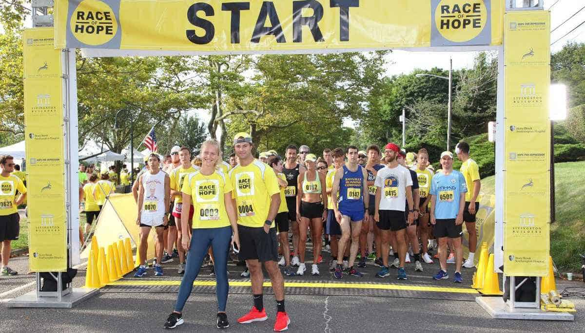 Race Of Hope Start Line Photo